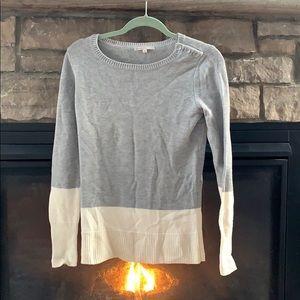 Gap colour block sweater. Wool blend